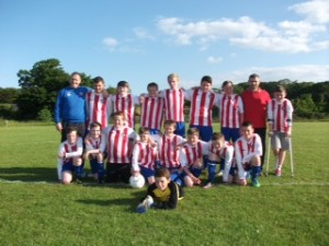 Under 13D league winners 2012/13