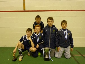 Under 11/12 NDSL Representatives from Portrane Athletic , winners of the Manchester Cup 2nd year running 2013&14.