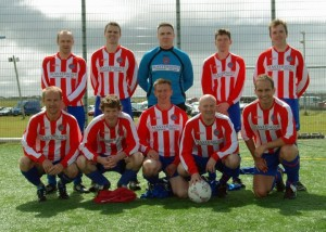Frankie Pat Gallagher Memorial Cup (Gweedore, Co Donegal) Semi Finalists 2012